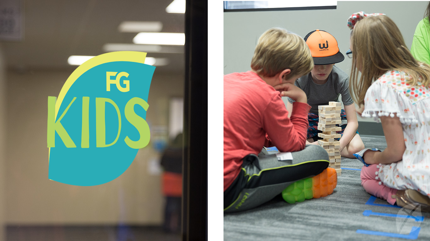 FG Kids Logo and Small Group Play